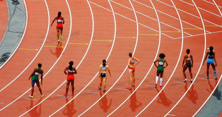 Race track, sprint