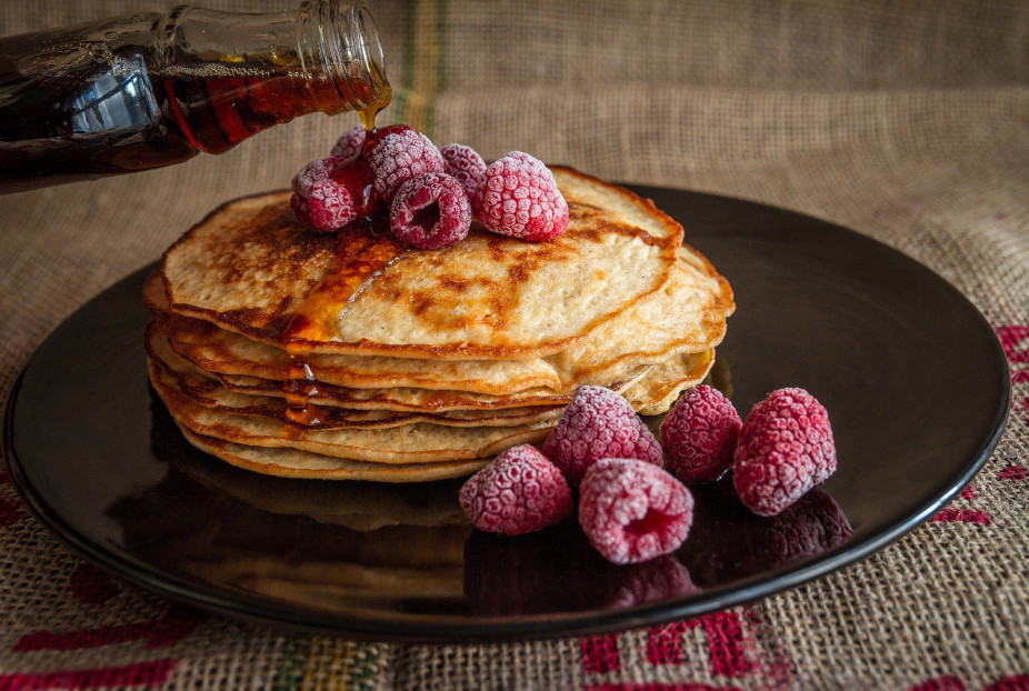 Protein pancakes, batter, pancake Tuesday, low carb breakfast