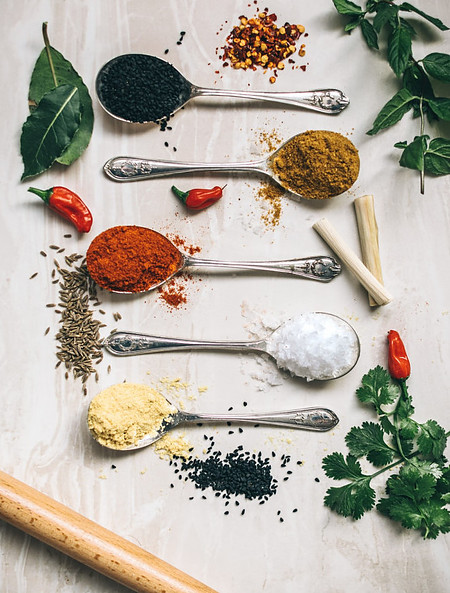 Salt substitutes, healthy food swaps, spices, herbs