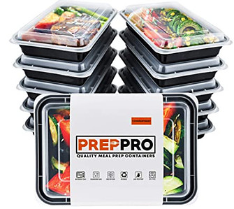 How to save space in the freezer - prep pro meal prep containers