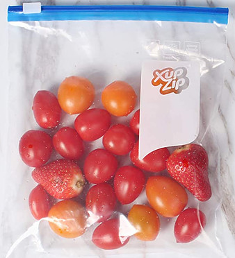 What food can I freeze? - Xup Zip lock freezer bags