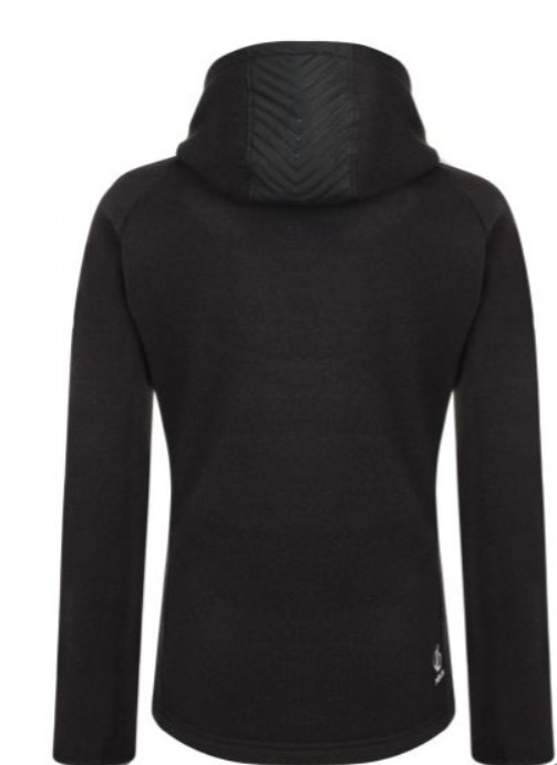 Gym gifts for her - Dare2B.ie Women's Glorious Full Zip Hooded Fleece Black