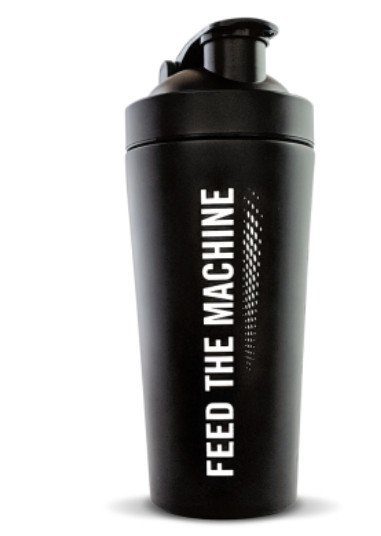Gym gifts for her - The Protein Works Matte Black Shaker - Limited Edition