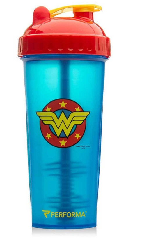 Top Protein Shakers - Wonder Woman Protein Shaker