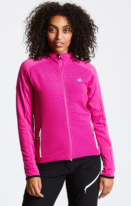 Hiking gifts for women - Women's Methodic Full Zip Fleece Active Pink