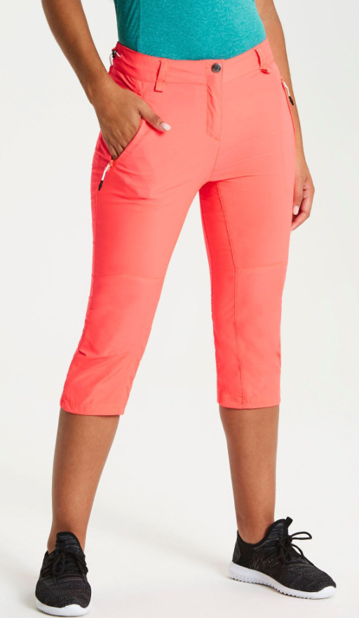 Hiking gifts for women - Women's Melodic II 43558 Length Walking Trousers Fiery Coral