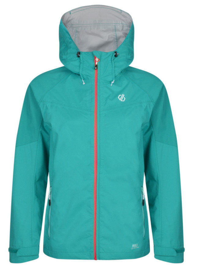 Hiking gifts for women - Women's Reconfine Lightweight Hooded Waterproof Jacket Caribbean Green