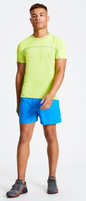 Workout tops for men - Men's Notable Lightweight T-Shirt Lime Punch
